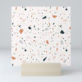 Terrazzo + Copper Mini Art Print