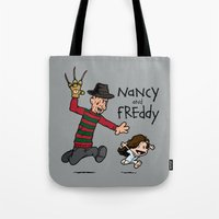Nancy and Freddy Tote Bag