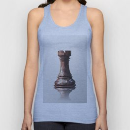rook low poly Unisex Tank Top
