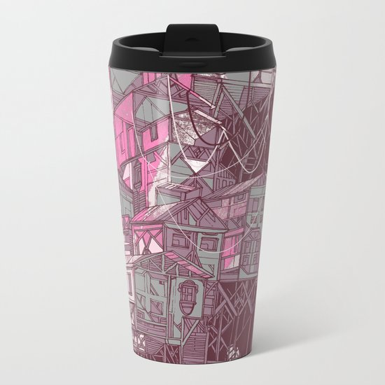 Whole world in his hands Metal Travel Mug