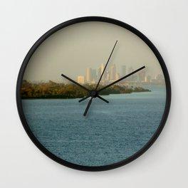 A Cities Coast Line Wall Clock