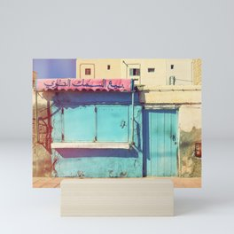 Sunday in Morocco Mini Art Print