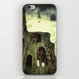 The mystical Scarborough Castle iPhone Skin