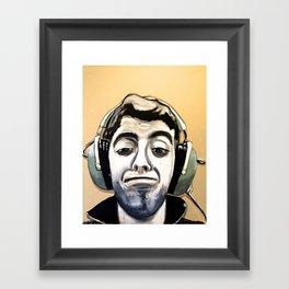 Zach Framed Art Print