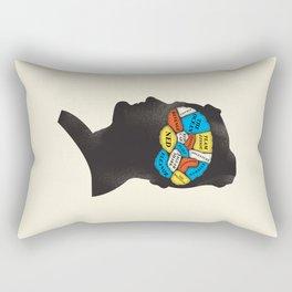 Stevesy Phrenology Rectangular Pillow
