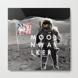 MOONWALKER Metal Print