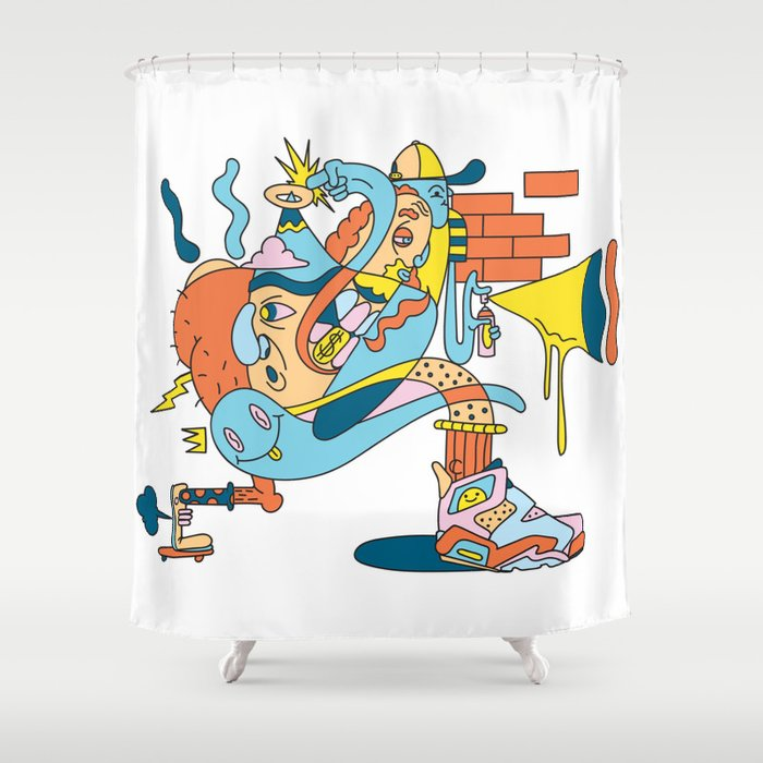 Trouser Jazz Shower Curtain