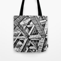 frames Tote Bags featuring Frames by Mark Alder