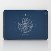doctor iPad Cases featuring Doctor Who: Wibbly Wobbly by Sof Andrade