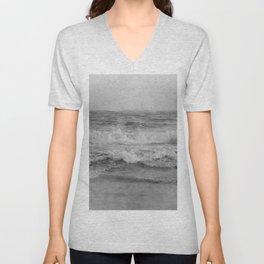 Photo 34 sea ocean waves Unisex V-Neck