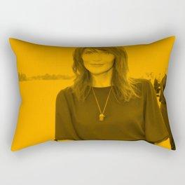 Helena Christensen Rectangular Pillow