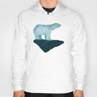 polar bear Hoodies featuring Polar Bear by Arts and Herbs