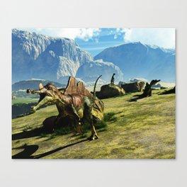 Ichthyovenator Dinosaur Canvas Print