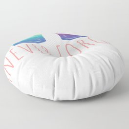 90's Nineties Party Outfit Slinky Never Forget Floor Pillow