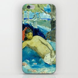 "Paul Gauguin ""Te arii vahine (The Queen of Beauty or The Noble Queen)"" iPhone Skin"