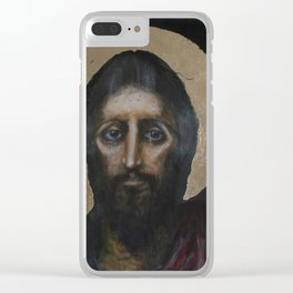 jesus loves you Clear iPhone Case