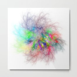 Feel The Rainbow Metal Print