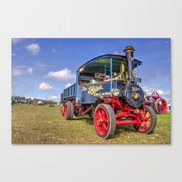 The Foden Steam Wagon Canvas Print