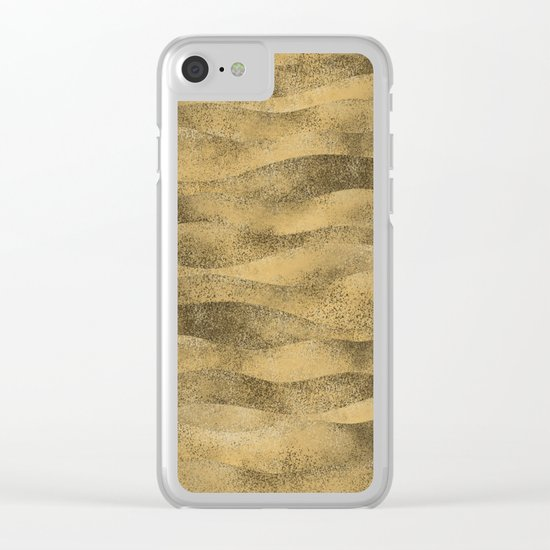 Beach Nights Clear iPhone Case
