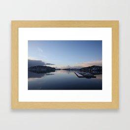 Norwegian Nature -Water I Framed Art Print
