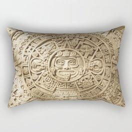 AZTEC CALENDAR MEXICO ART Rectangular Pillow