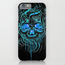 Winter Ice Skeletons iPhone Case