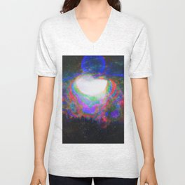 The Echoes of Reason Parting Electrified Twilight Unisex V-Neck
