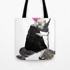 rhinosaurucycle Tote Bag