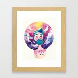 Star Boy Framed Art Print
