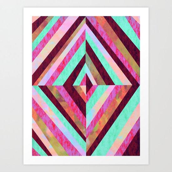 PATTERN {Diamond 001} Art Print