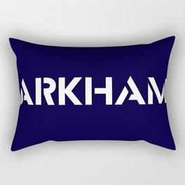 Arkhams Suicide Rectangular Pillow