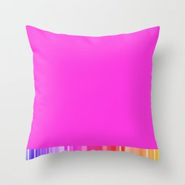 Cool pink colorful living Throw Pillow
