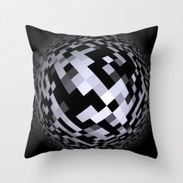 black-and-white -05- Throw Pillow