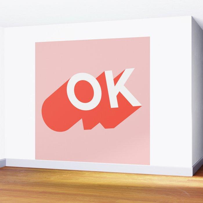 OK Wall Mural