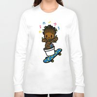 groot Long Sleeve T-shirts featuring groot groot groot.... by Ziqi