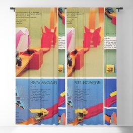 1971 Hot Wheels Italians Dealer's Catalog Redline Show Store Poster Blackout Curtain