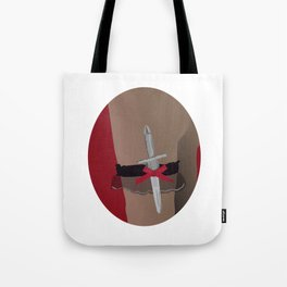 Deadly Seduction Tote Bag