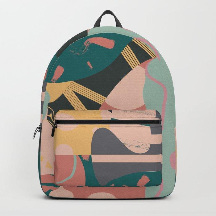 Tribal pastels Backpack