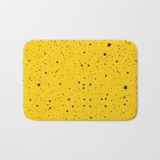 Speckled Yellow Bath Mat