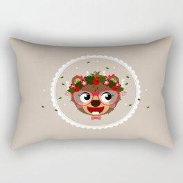 Oursonne de Noel Rectangular Pillow