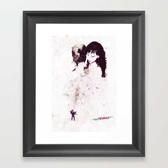 Shining Framed Art Print