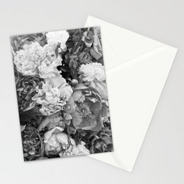 pink pink PEONIES Stationery Cards