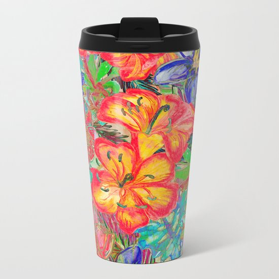 My Tropical Garden 6 Metal Travel Mug