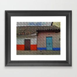 Home is Not a Place, It's a Feeling. Framed Art Print