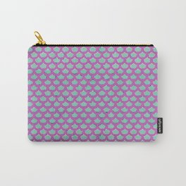 Mermaid Scales Violet Carry-All Pouch