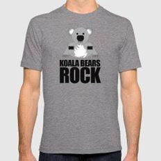 Koala Bears Rock Mens Fitted Tee Tri-Grey MEDIUM