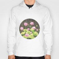 lotus flower Hoodies featuring Lotus by Carla Adol