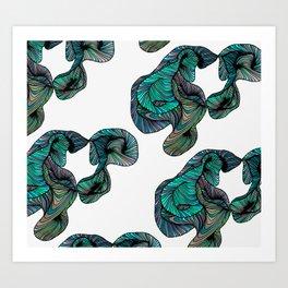 abstract digital 2.0 Art Print