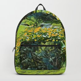 Wagon Wheel landscape Backpack