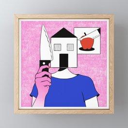 Home Framed Mini Art Print
